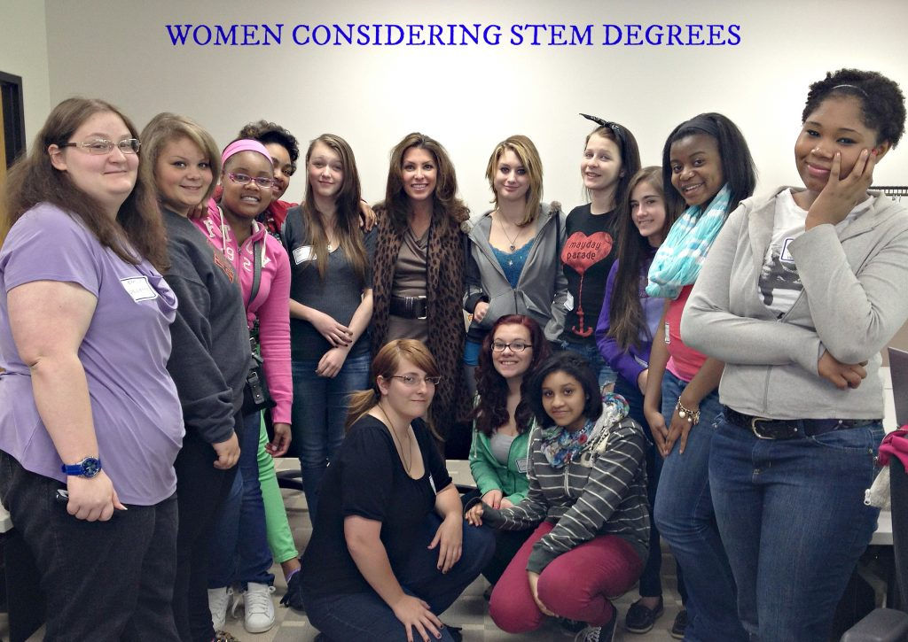 Women considering STEM degrees - Tech Savvy Women