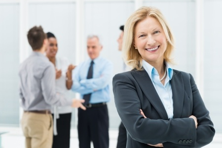 woman in technology leader